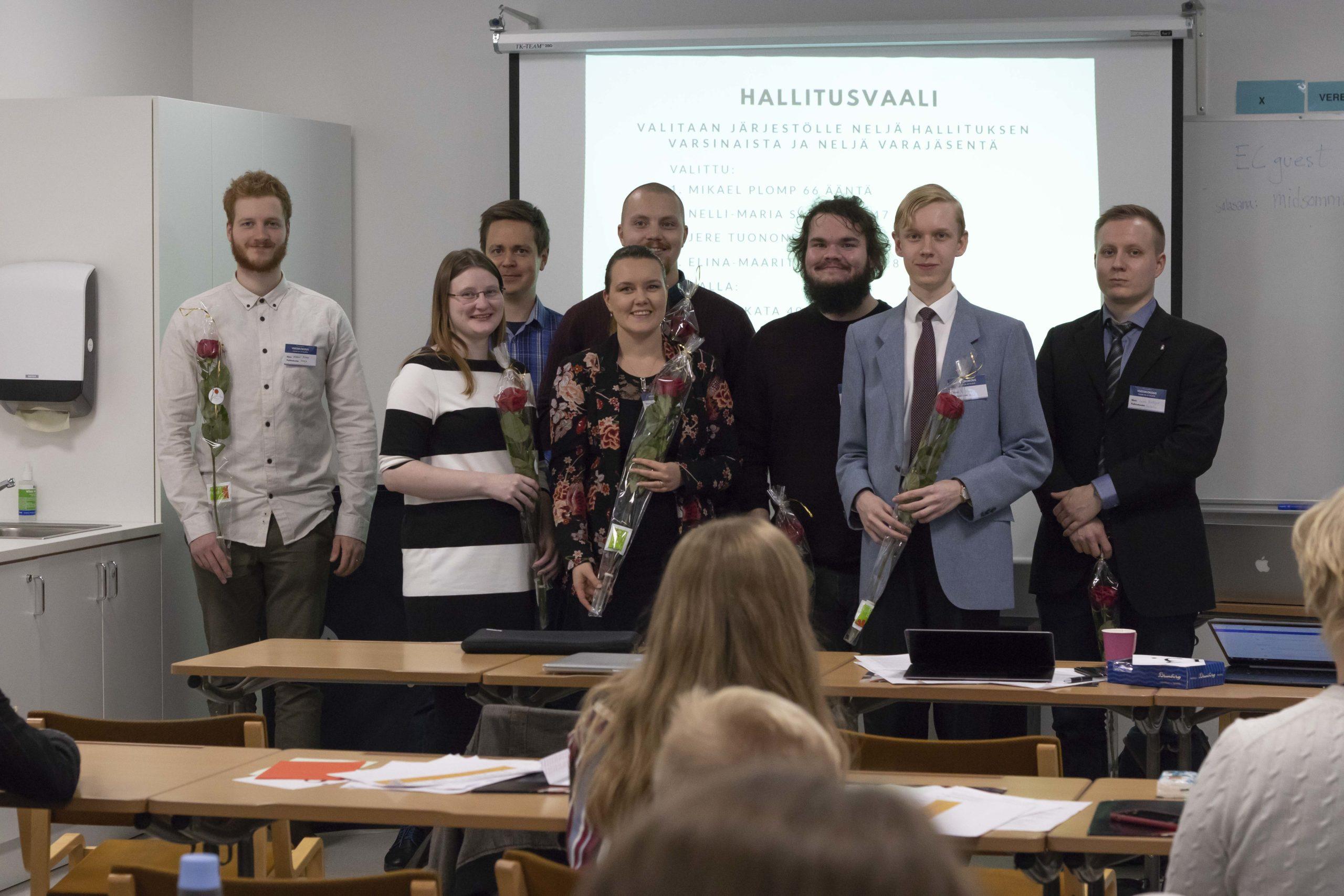 Mikael Plomp sai äänivyöryn – vuosikokous äänesti hallituksen jäsenistä