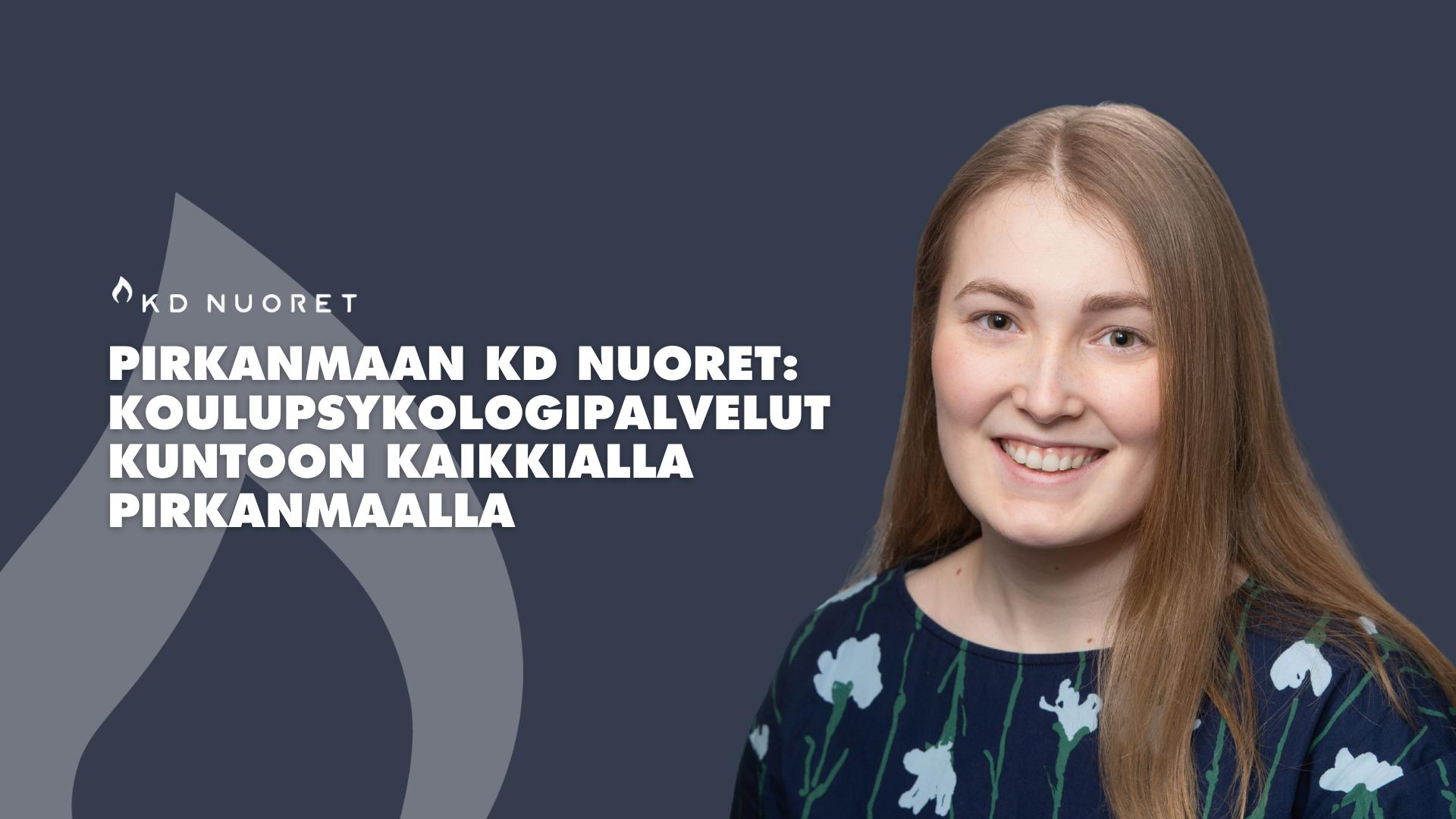 Pirkanmaan KD Nuoret: Koulupsykologipalvelut kuntoon kaikkialla Pirkanmaalla