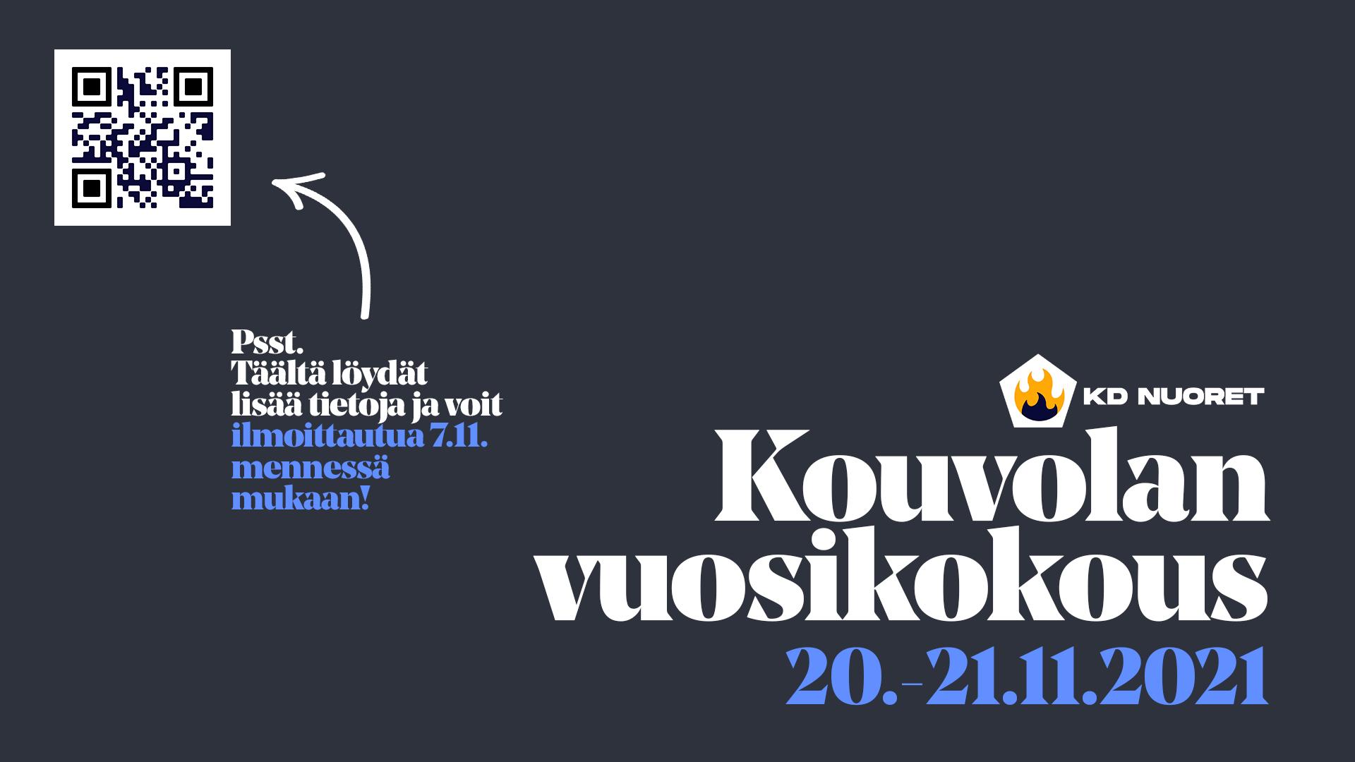 Read more about the article Vuosikokous 20.-21.11. Kouvolassa!